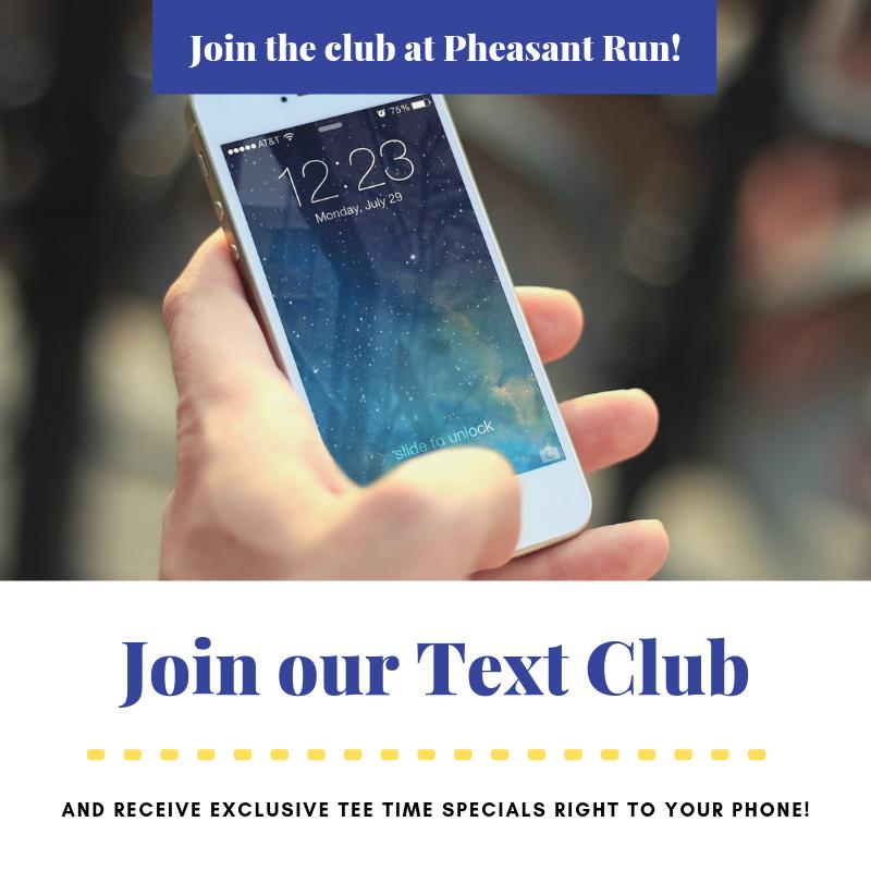 Pheasant Run Text Club 9.21